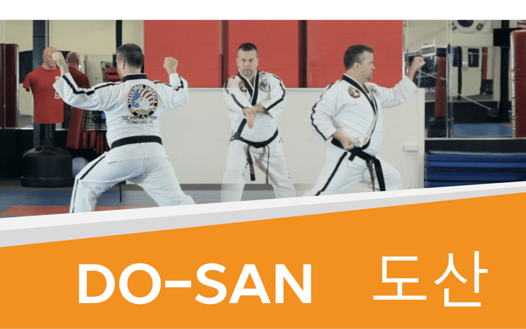 How to: Do-San – Taekwondo Orange Belt Form (with Video!)