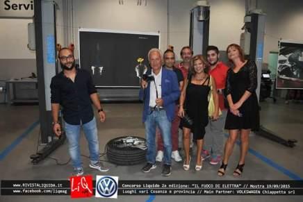 Il fuoco di Elettra - evento mostra c/o Volkswagen Chiappetta_Corigliano Calabro (CS)