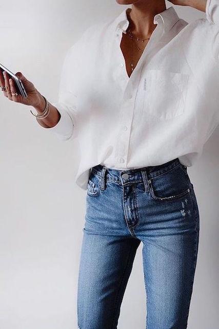 Da Donna felce con effetto invecchiato Pantaloncini Di Jeans-semplicemente essere