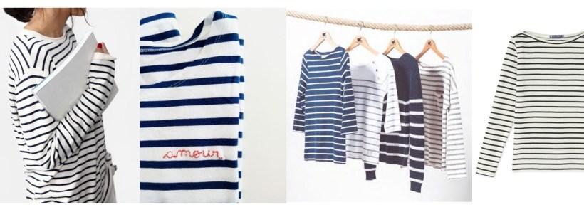 Come indossare la marinière, la maglia a righe