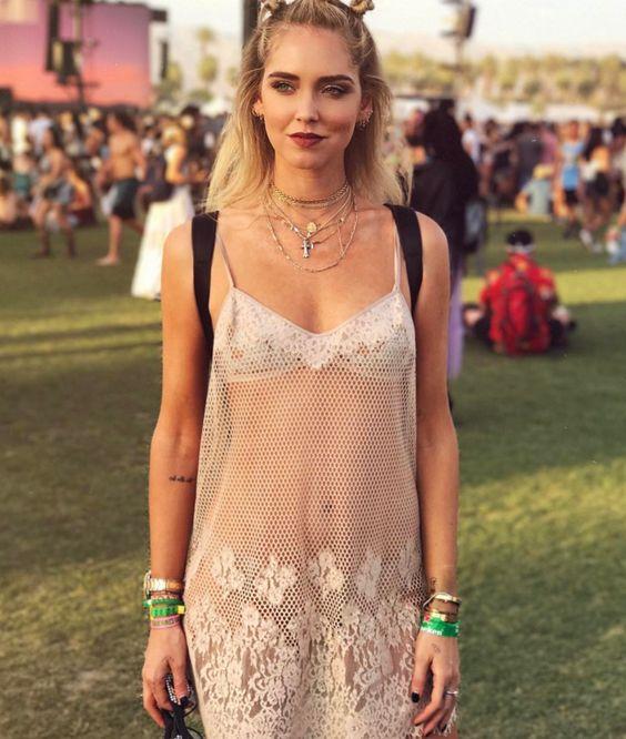 Chiara Ferragni al Coachella