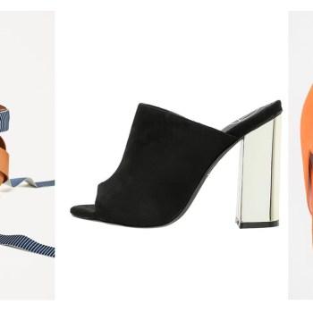 Tendenze scarpe estate 2017: 5 modelli da tenere d'occhio