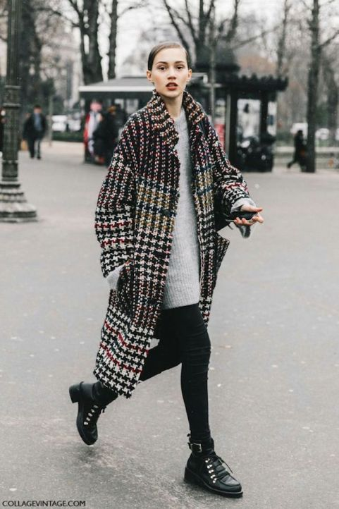 cappotto tweed