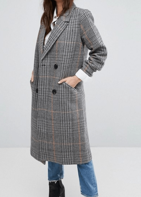 cappotto tweed