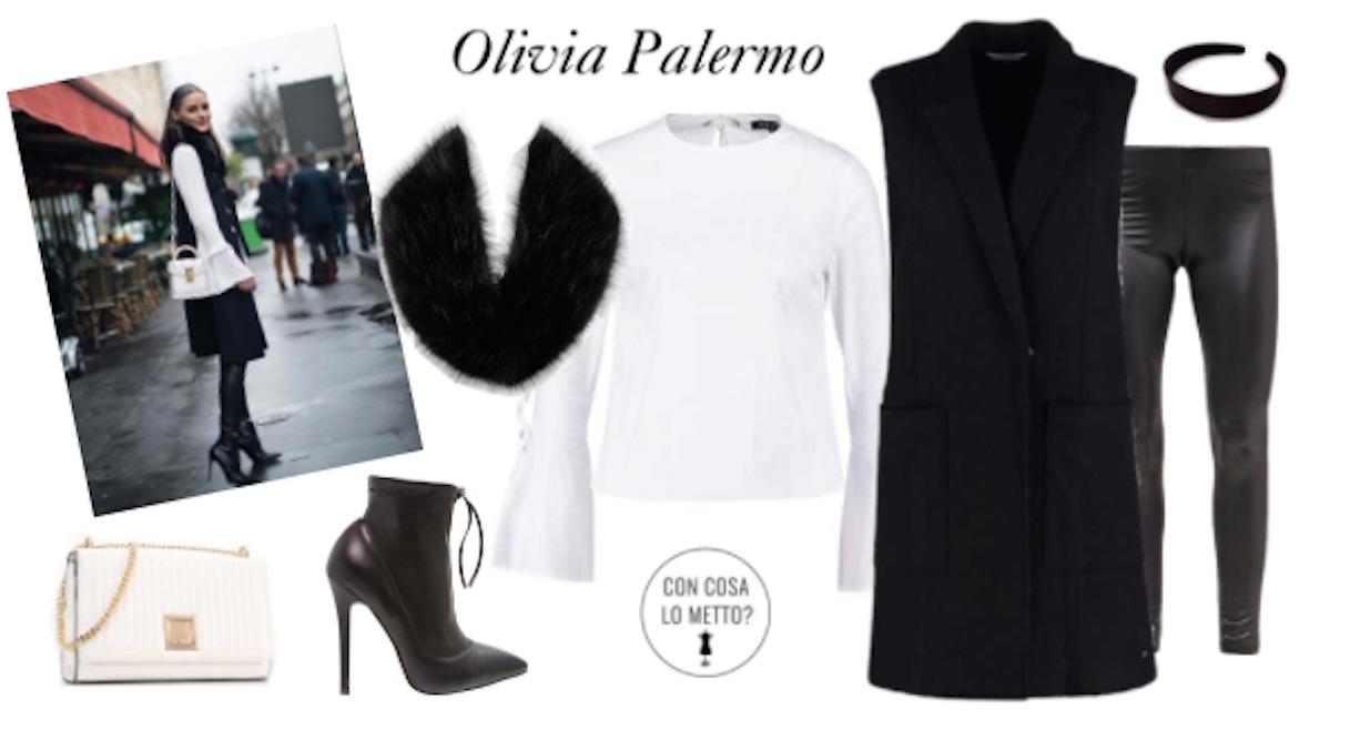 Copia il look in versione low cost  Olivia Palermo - Con cosa lo metto  636a135f176