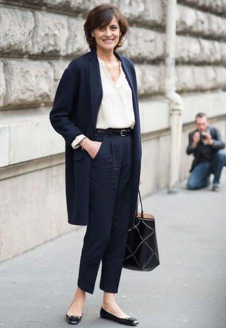 """Ines de la Fressange - come vestire bene sopra gli """"anta"""""""