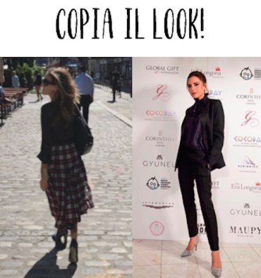 copia il look - Victoria Beckham