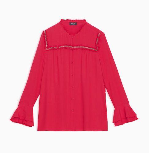 Rosso natale camicia2