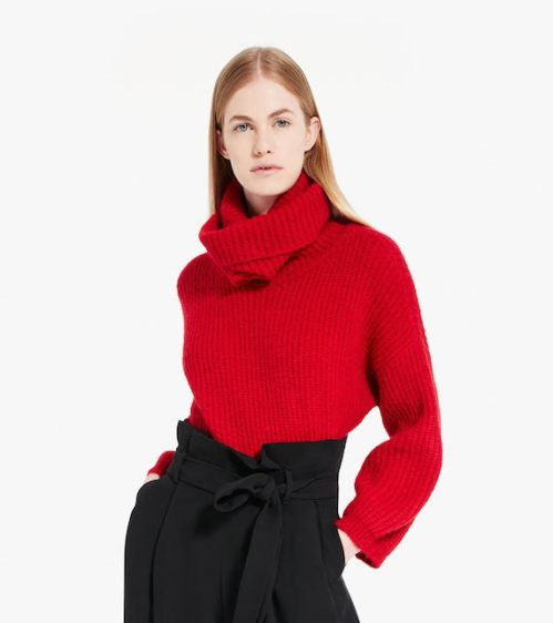 Rosso natale pull