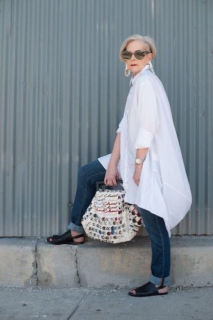 Capelli bianchi: cosa indossare per farli risaltare!1