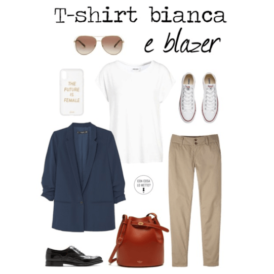Come abbinare la t-shirt bianca: 3 look per voi!7