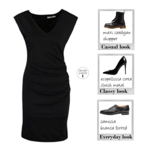 Come abbinare scarpe e vestiti - little black dress