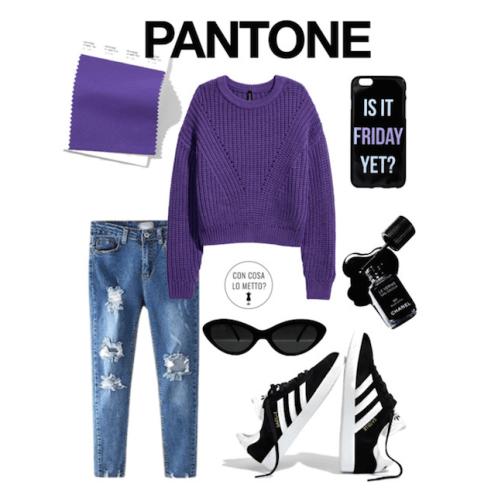 I colori Pantone per la primavera 2018: Uktraviolet.png