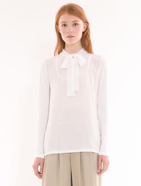 La camicia bianca: 10 consigli di shopping per voi - modello  Max&co corda-t-shirt.jpg