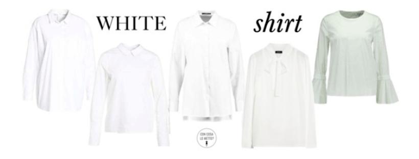 La camicia bianca: 10 consigli di shopping per voi!