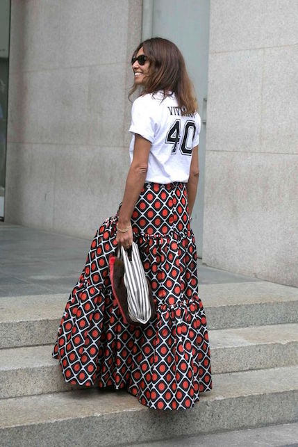 La gonna lunga: come indossarla?4