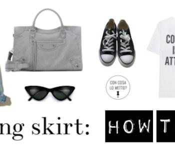 La gonna lunga: come indossarla?