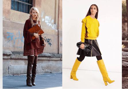 Stivali anni settanta: consigli di stile e di shopping