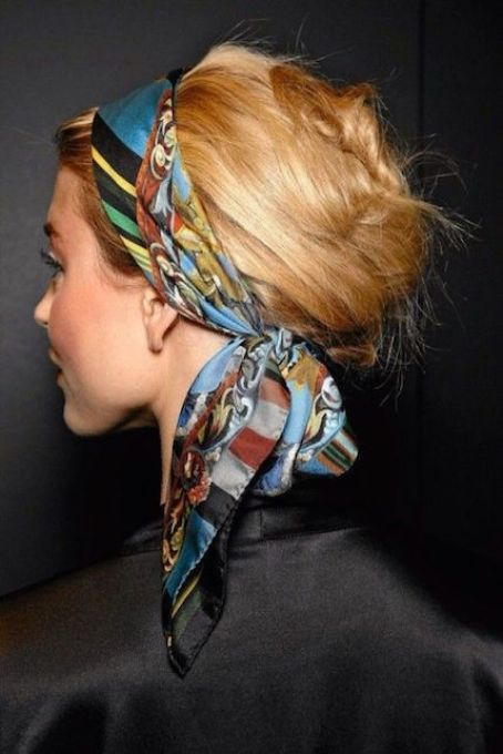 Come indossare foulard idee facili chic