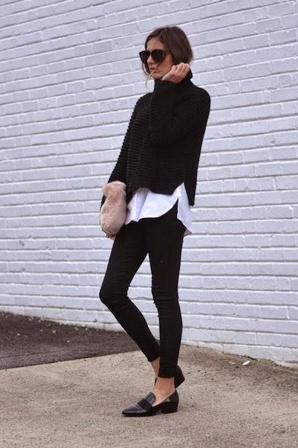 come indossare dolcevita inverno