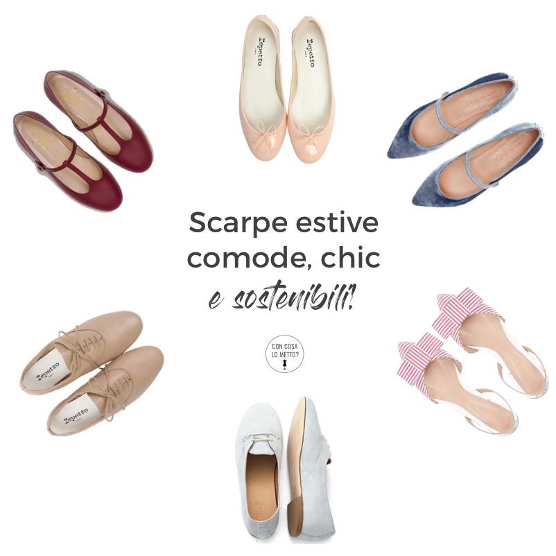 Scarpe per la primavera: belle, comode, sostenibili e chic