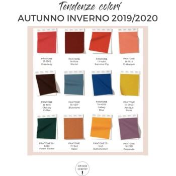 tendenze colori 2019-2020