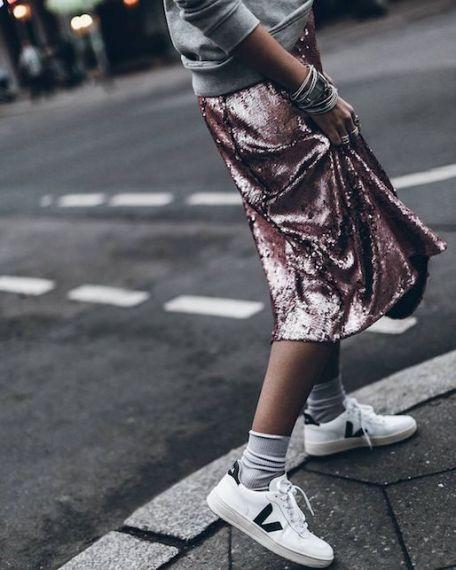 Come indossare le paillettes