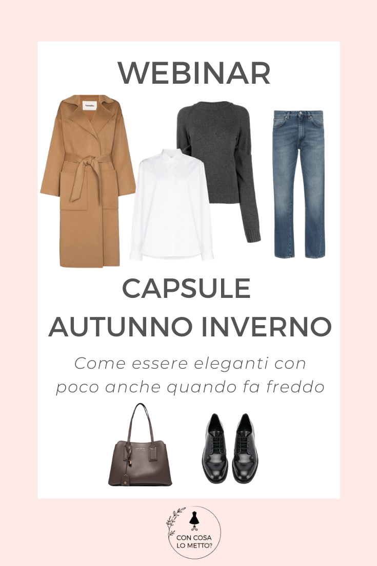 webinar capsule autunno inverno