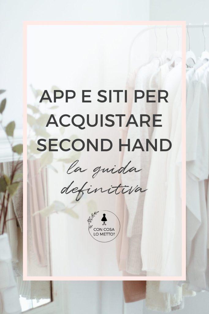 App e siti per acquistare second hand