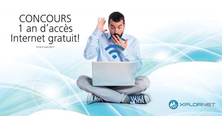 Concours – Gagnez 1 an d'accès Internet de Xplornet GRATUIT!