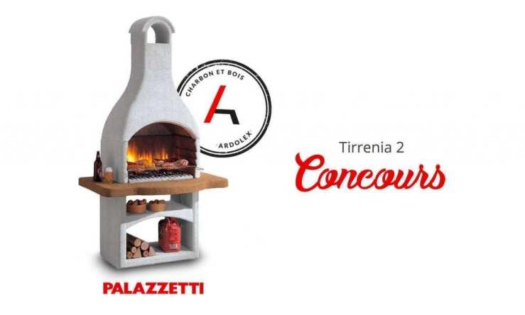 Concours - Gagner un Tirrenia 2, un barbecue au charbon et au bois design et pratique!