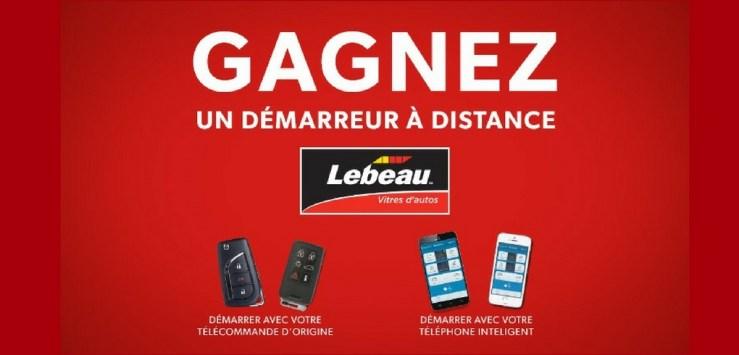 Concours LEBEAU et CKOB - Gagner un démarreur à distance pour Auto