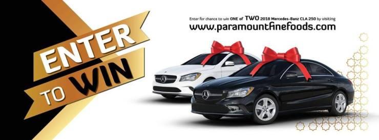 À gagner : Une voiture de luxe 2018 Mercedes-Benz CLA 250