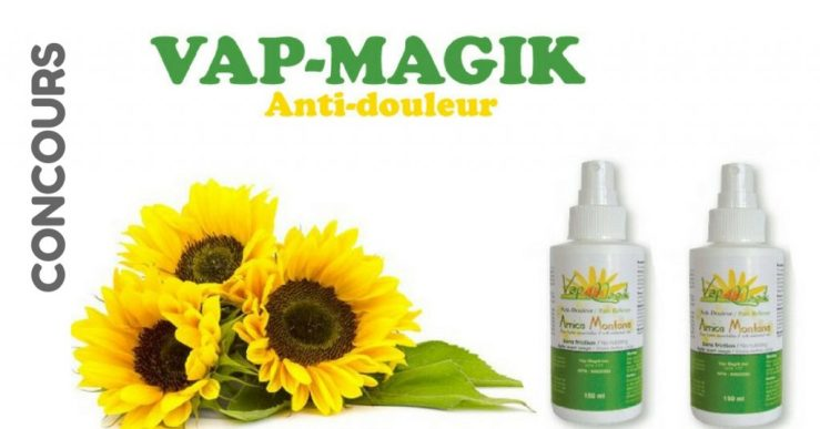 Concours Vap Magik & Francois Charron - Gagner un trio apaisant pour soulager vos douleurs