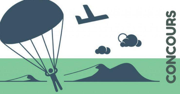 concours saut en parachute offert par crédit 24