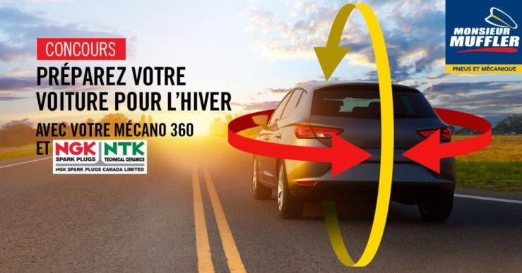 Concours Monsieur Muffler |Préparez votre voiture pour l'hiver