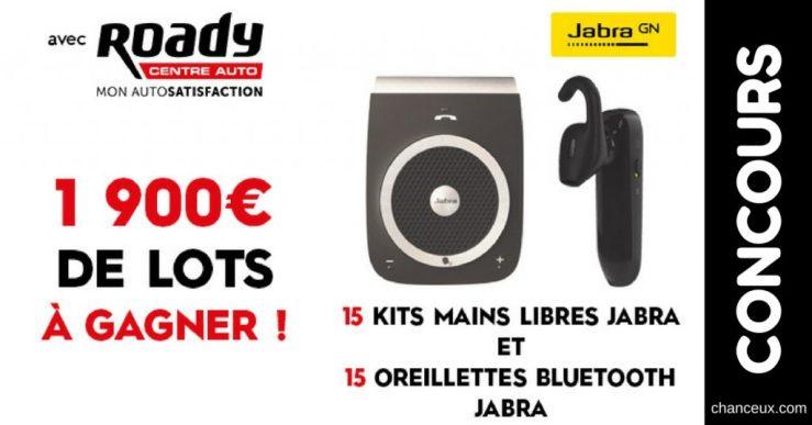 Concours Roady - Gagner un kit mains libres et une oreillette Bluetooth