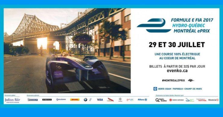 Gagner une paire de billets pour la Formule E FIA 2017