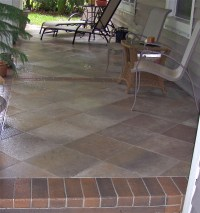Outdoor Tile Over Concrete - Bing images