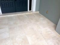 Concrete Designs Florida   Tile entryway in Indiatlantic
