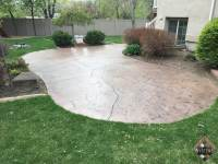 What To Do With Old Concrete Patio. Acid Wash Concrete ...