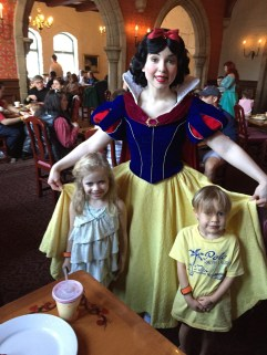 Snow White, Pips and Jakey