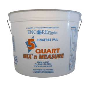 measuring bucket 5 quarts