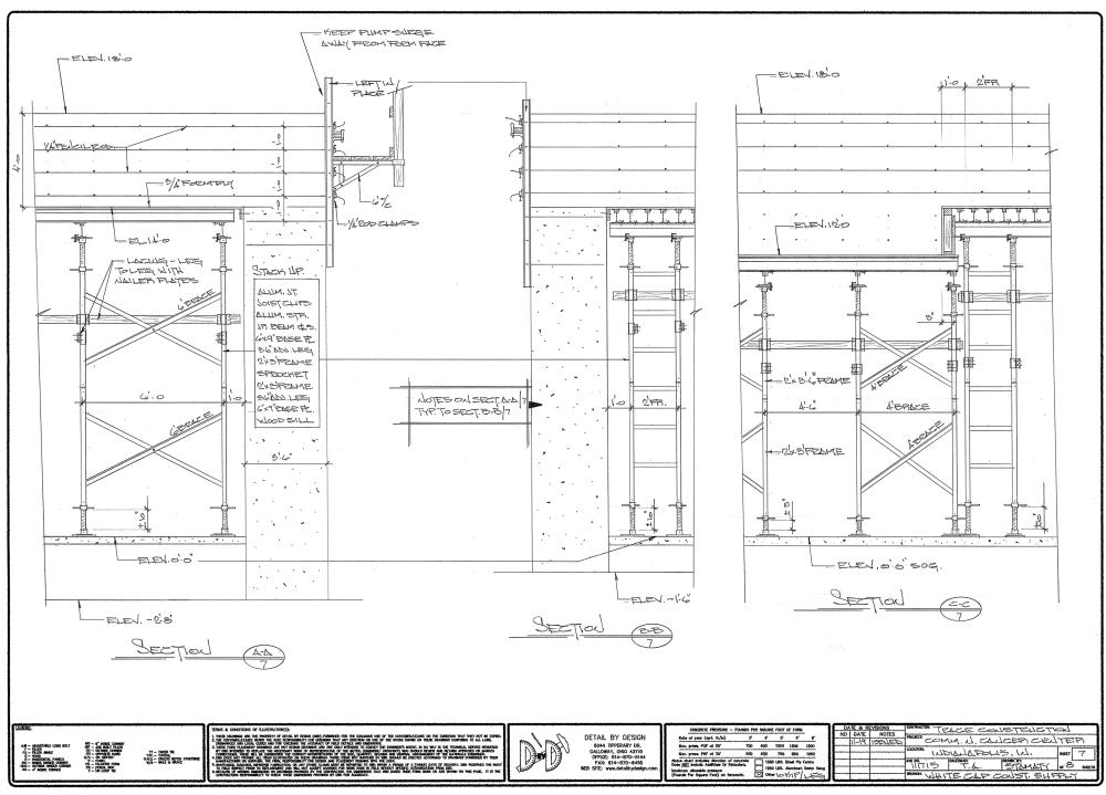 medium resolution of concrete formwork diagram