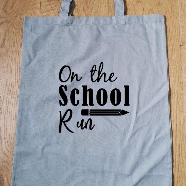 On the school run tote bag main photo