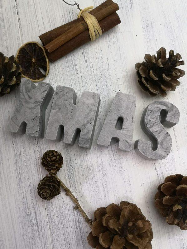 Xmas Concrete Letters main photo