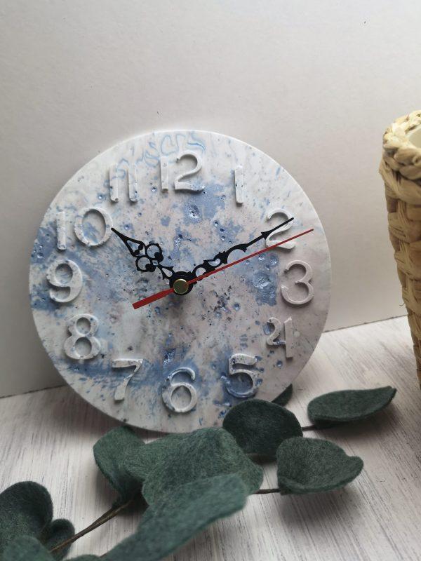 Custom Colour Marbled Clock photo 2