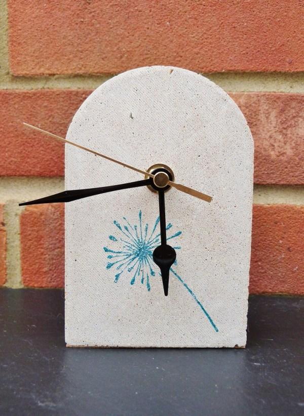 Dandelion Mantelpiece Clock main photo