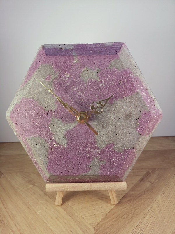 Hexagonal Wall Clock main photo
