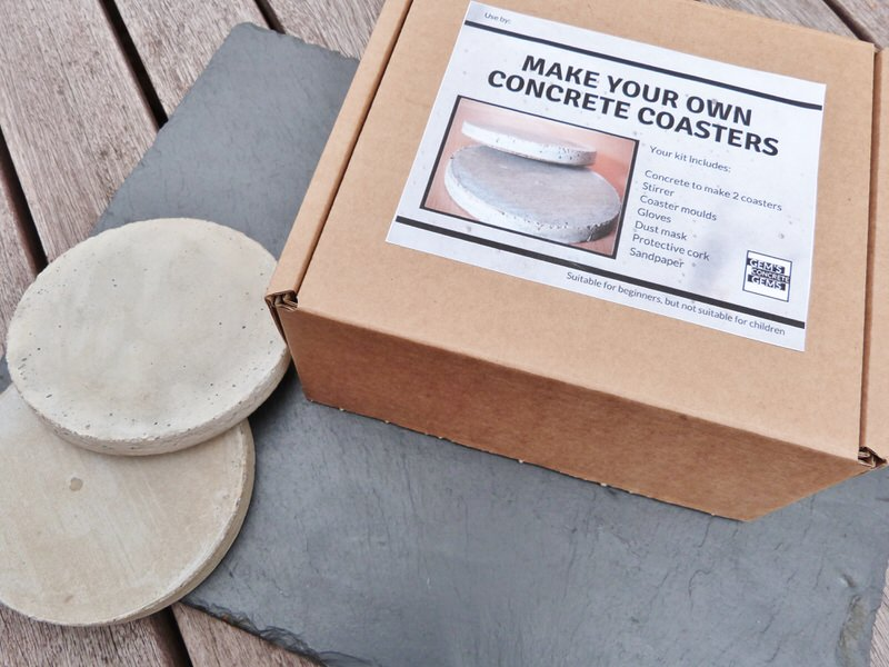 Make Your Own Concrete Coasters main photo